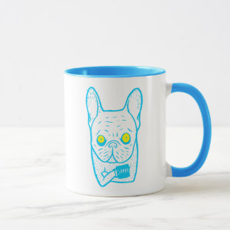 Coffee is Frenchie's best friend Mug
