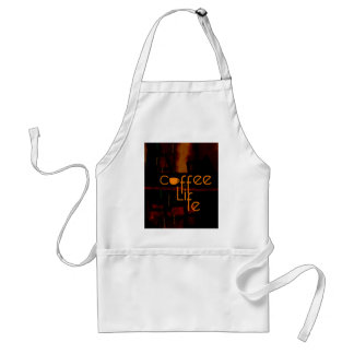 Coffee is Life Adult Apron