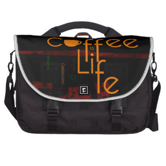 Coffee is Life Bags For Laptop