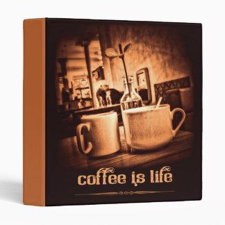 Coffee is Life Binder