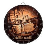 Coffee is Life Dartboards