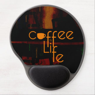 Coffee is Life Gel Mouse Pad