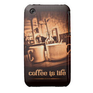 Coffee is Life iPhone 3 Cover
