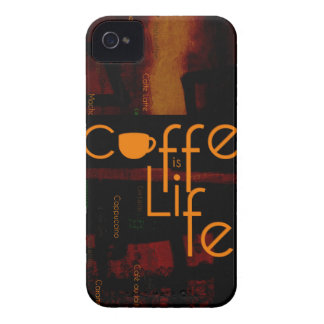 Coffee is Life iPhone 4 Case