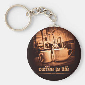 Coffee is Life Keychain