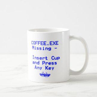 Coffee is missing! mugs