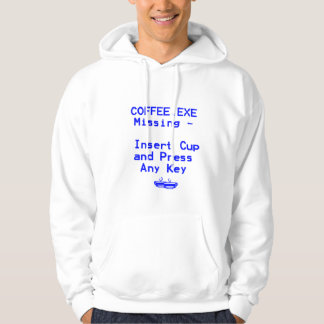 Coffee is missing! pullover