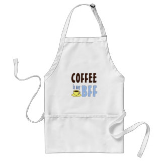 Coffee Is My BFF Adult Apron