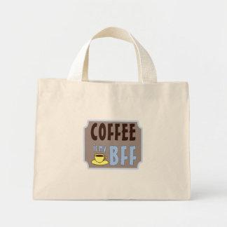 Coffee is my BFF Mini Tote Bag