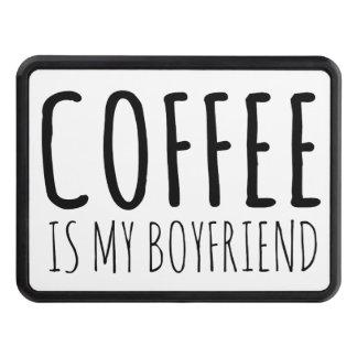 Coffee is my Boyfriend Hitch Cover