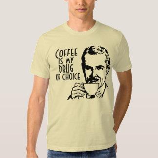 Coffee is my drug of choice Retro Shirt