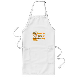 Coffee Is My Favorite Time Of The Day Long Apron