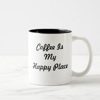 Coffee Is My Happy Place Mug