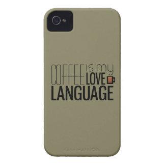Coffee Is My Love Language iPhone 4 Case