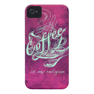 Coffee is my religion! iPhone 4 case