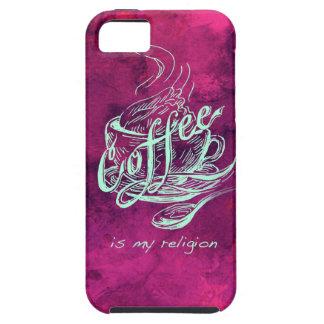 Coffee is my religion! iPhone SE/5/5s case
