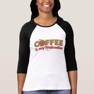 Coffee is my Valentine Tee Shirts