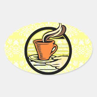 Coffee is Served Sticker