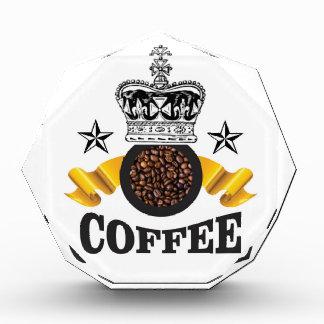 coffee is the top crop acrylic award
