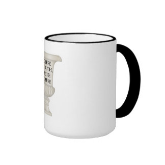 Coffee Is Truth Ringer Mug