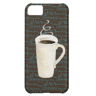 Coffee Java Espresso Chocolate Steaming Cup Cover For iPhone 5C