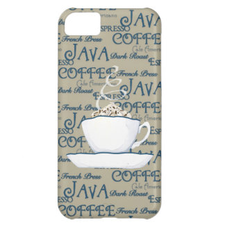 Coffee Java Espresso Chocolate Steaming Cup iPhone 5C Case