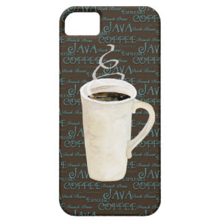Coffee Java Espresso Chocolate Steaming Cup iPhone SE/5/5s Case