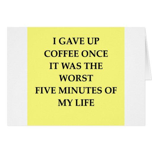 COFFEE.jpg Tarjeta De Felicitación