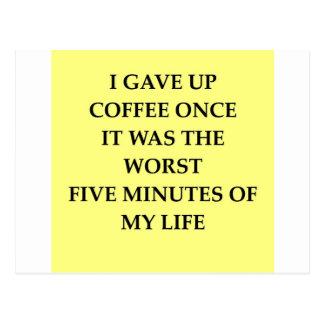 COFFEE.jpg Tarjetas Postales