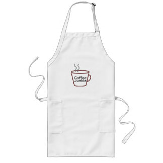 Coffee Junkie Long Apron