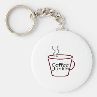 Coffee Junkie Key Chains