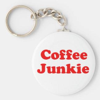 Coffee Junkie Keychain
