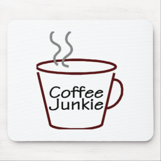 Coffee Junkie Mouse Mat