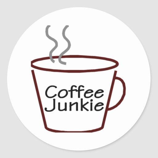 Coffee Junkie Sticker