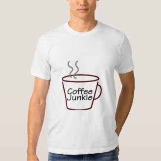 Coffee Junkie T Shirt