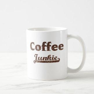 coffee junkie taza