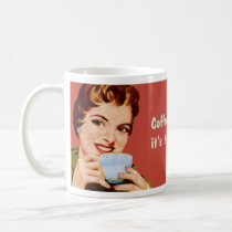 Coffee keeps me busy until it's time to be drunk classic white coffee mug