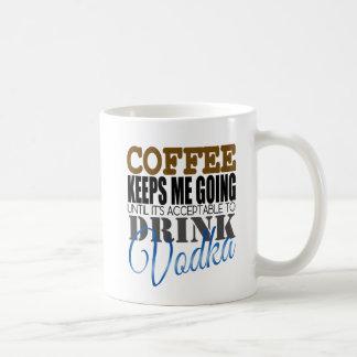 Coffee Keeps Me Going Mug Basic White Mug
