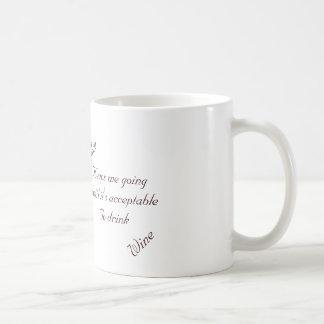 Coffee Keeps Me Going Classic White Coffee Mug