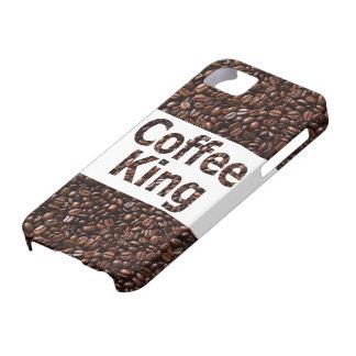 Coffee King iPhone5 Case