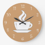 Coffee Kitchen Wall Clocks