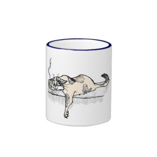 "Coffee Kitty is NOT a morning cat *ahem* ""person""! Coffee Mug"