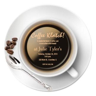 coffee klatch invitation