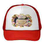 Coffee Labradors Painting Trucker Hat