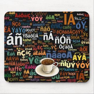 Coffee Language Mouse Pad