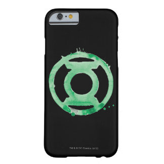 Coffee Lantern Symbol - Green Barely There iPhone 6 Case
