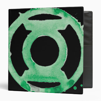 Coffee Lantern Symbol - Green Binder
