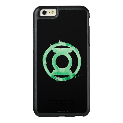 Coffee Lantern Symbol - Green OtterBox iPhone 6/6s Plus Case