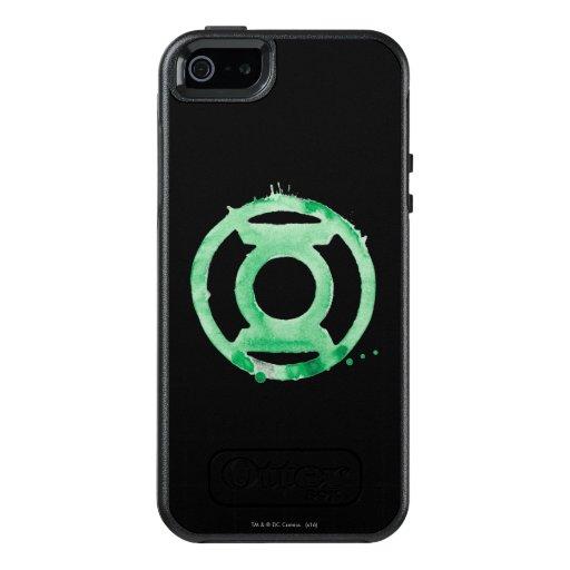 Coffee Lantern Symbol - Green OtterBox iPhone 5/5s/SE Case