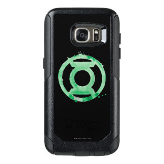 Coffee Lantern Symbol - Green OtterBox Samsung Galaxy S7 Case